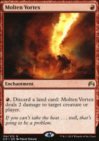 Molten Vortex - Magic Origins