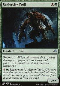 Undercity Troll - Magic Origins