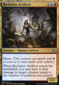 Reclusive Artificer - Magic Origins
