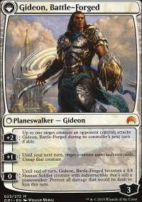 Gideon, Battle-Forged - Magic Origins