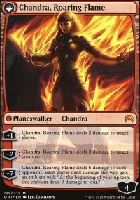 Chandra, Roaring Flame - Magic Origins