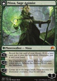 Nissa, Sage Animist - Magic Origins