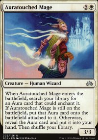 Auratouched Mage - Planechase Anthology decks