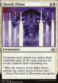 Ghostly Prison - Planechase Anthology decks