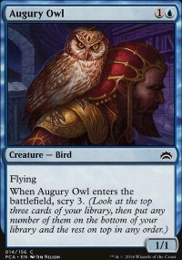 Augury Owl - Planechase Anthology decks