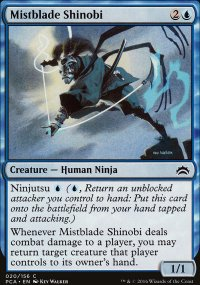 Mistblade Shinobi - Planechase Anthology decks
