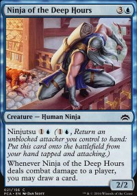 Ninja of the Deep Hours - Planechase Anthology decks