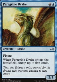 Peregrine Drake - Planechase Anthology decks
