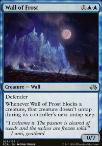 Wall of Frost - Planechase Anthology decks