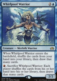 Whirlpool Warrior - Planechase Anthology decks