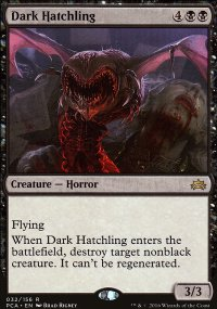 Dark Hatchling - Planechase Anthology decks