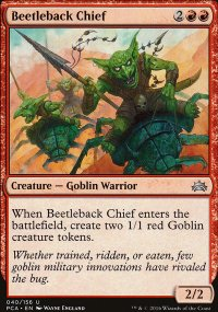 Beetleback Chief - Planechase Anthology decks
