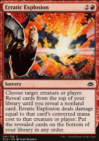 Erratic Explosion - Planechase Anthology decks