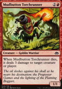 Mudbutton Torchrunner - Planechase Anthology decks