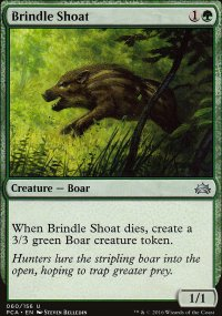 Brindle Shoat - Planechase Anthology decks