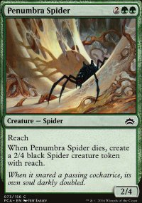 Penumbra Spider - Planechase Anthology decks