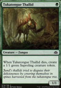 Tukatongue Thallid - Planechase Anthology decks