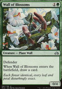 Wall of Blossoms - Planechase Anthology decks