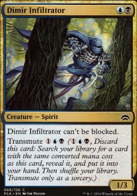 Dimir Infiltrator - Planechase Anthology decks