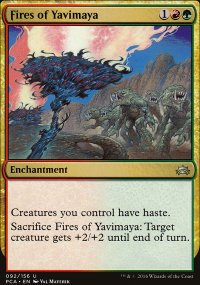 Fires of Yavimaya - Planechase Anthology decks