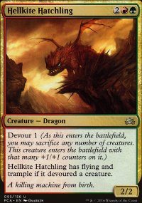 Hellkite Hatchling - Planechase Anthology decks