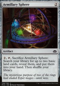 Armillary Sphere - Planechase Anthology decks