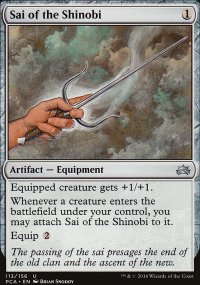Sai of the Shinobi - Planechase Anthology decks