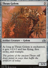 Thran Golem - Planechase Anthology decks
