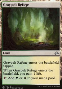 Graypelt Refuge - Planechase Anthology decks