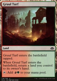 Gruul Turf - Planechase Anthology decks