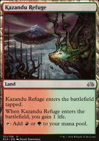 Kazandu Refuge - Planechase Anthology decks