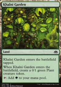 Khalni Garden - Planechase Anthology decks