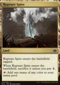 Rupture Spire - Planechase Anthology decks