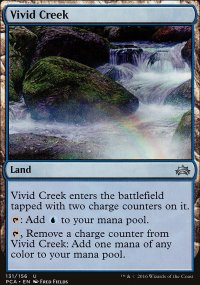 Vivid Creek - Planechase Anthology decks