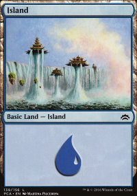 Island 3 - Planechase Anthology decks