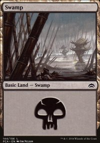 Swamp 3 - Planechase Anthology decks