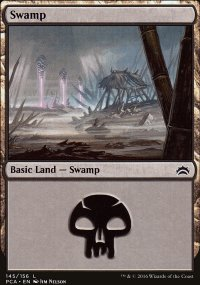 Swamp 4 - Planechase Anthology decks