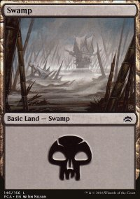 Swamp 5 - Planechase Anthology decks