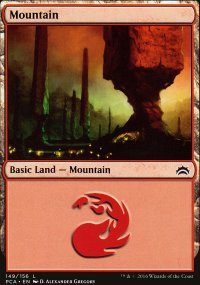 Mountain 3 - Planechase Anthology decks