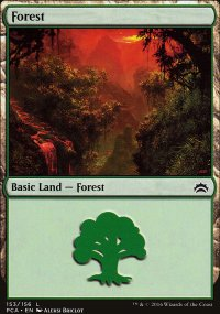 Forest 3 - Planechase Anthology decks
