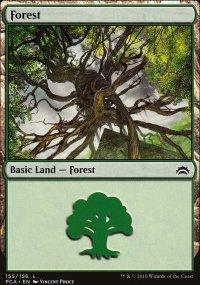 Forest 5 - Planechase Anthology decks
