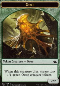 Ooze - Planechase Anthology decks