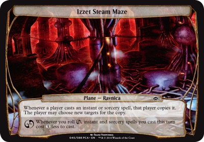 Izzet Steam Maze - Planechase Anthology