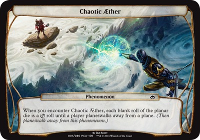 Chaotic Aether - Planechase Anthology