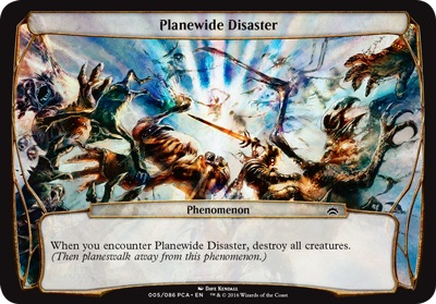 Planewide Disaster - Planechase Anthology