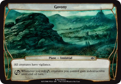 Gavony - Planechase Anthology