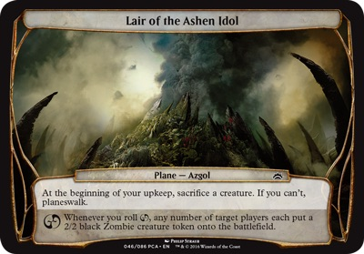 Lair of the Ashen Idol - Planechase Anthology