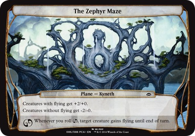 The Zephyr Maze - Planechase Anthology