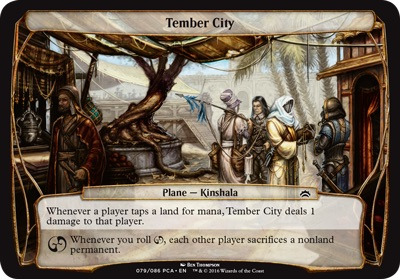 Tember City - Planechase Anthology