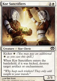 Kor Sanctifiers - Planechase decks